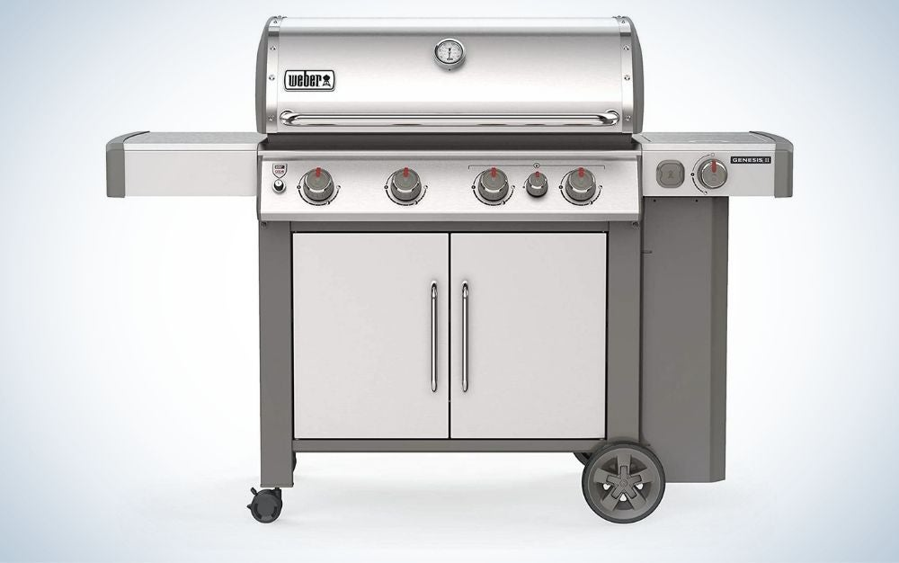 Stainless steel burner liquid propane grill prime day deal