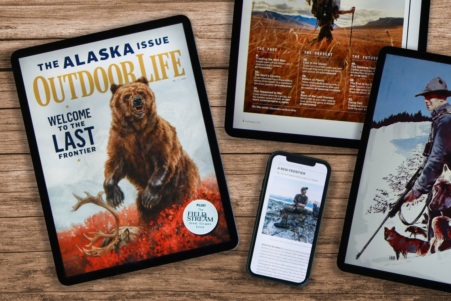 The Outdoor Life digital edition
