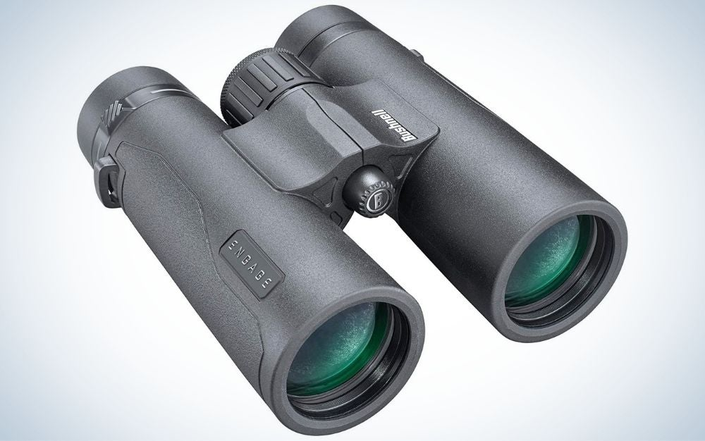 Black, aluminum binoculars for father's day gift
