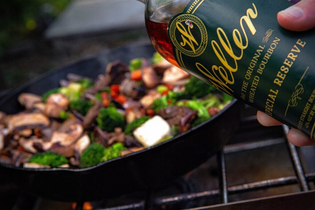 Use alcohol sparingly in your wild game dishes.