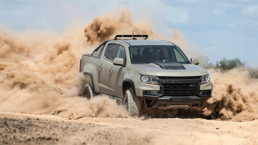 The ZR2 is a good choice for urban hunters who need a truck.