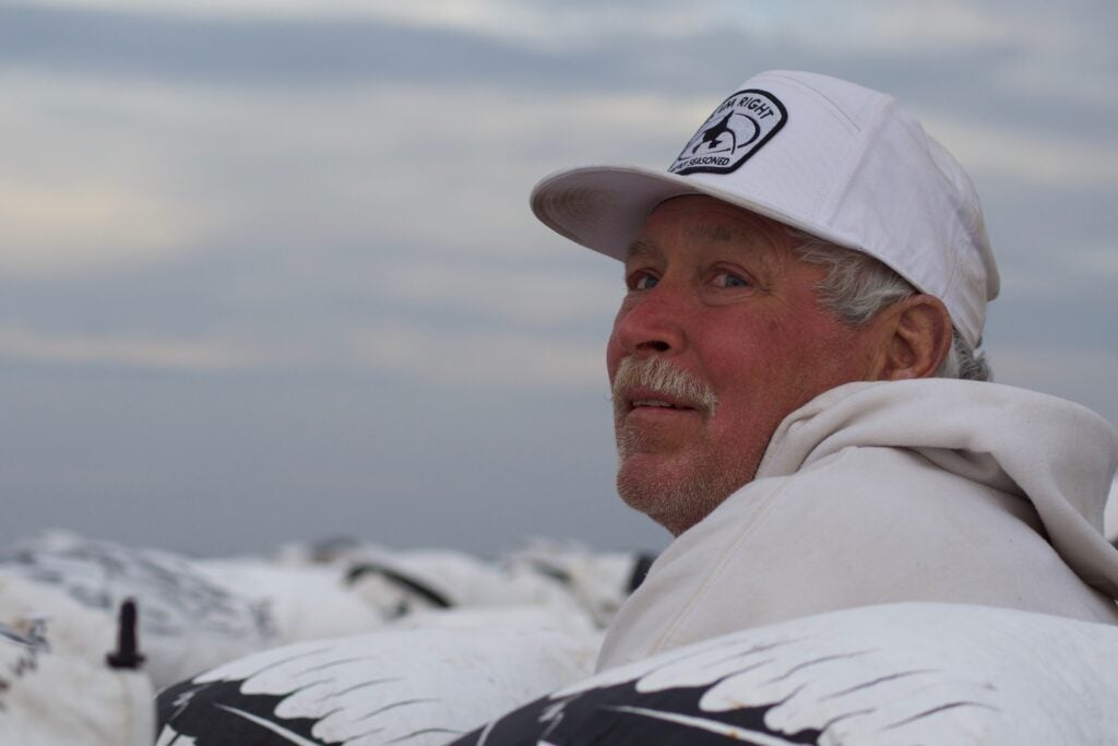 Milton Newberry has been hunting snows since 2000.