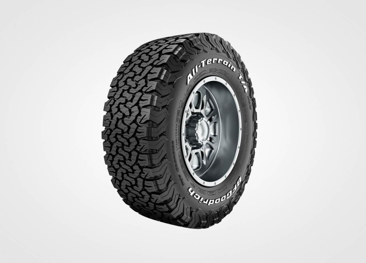 BFGoodrich has bee making quility off-road tires for decades.