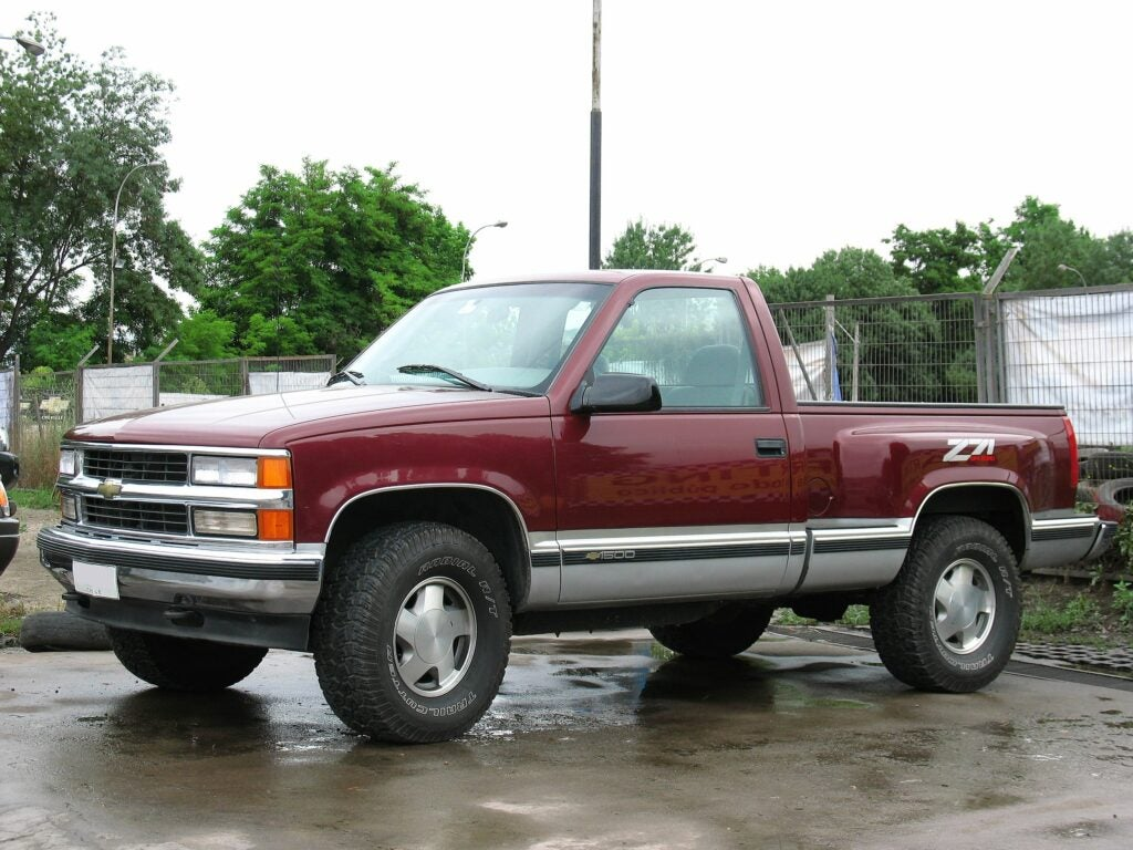 Son't be afraid of buying a truck that was built before you were born.