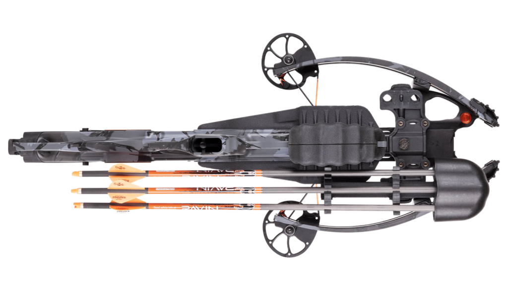Ravin R26 crossbow compact profile.