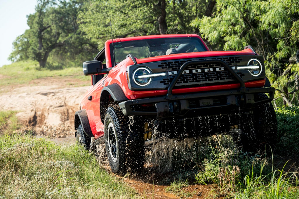 Ford made the Bronco capable for on and off-road pursuits.