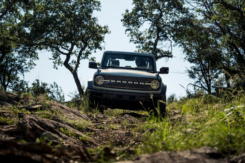 Jeep's Wrangler has been supplanted by the Bronco.