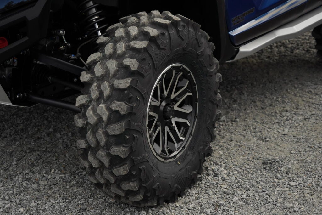 You won't need to buy aftermarket tires for the RMax.