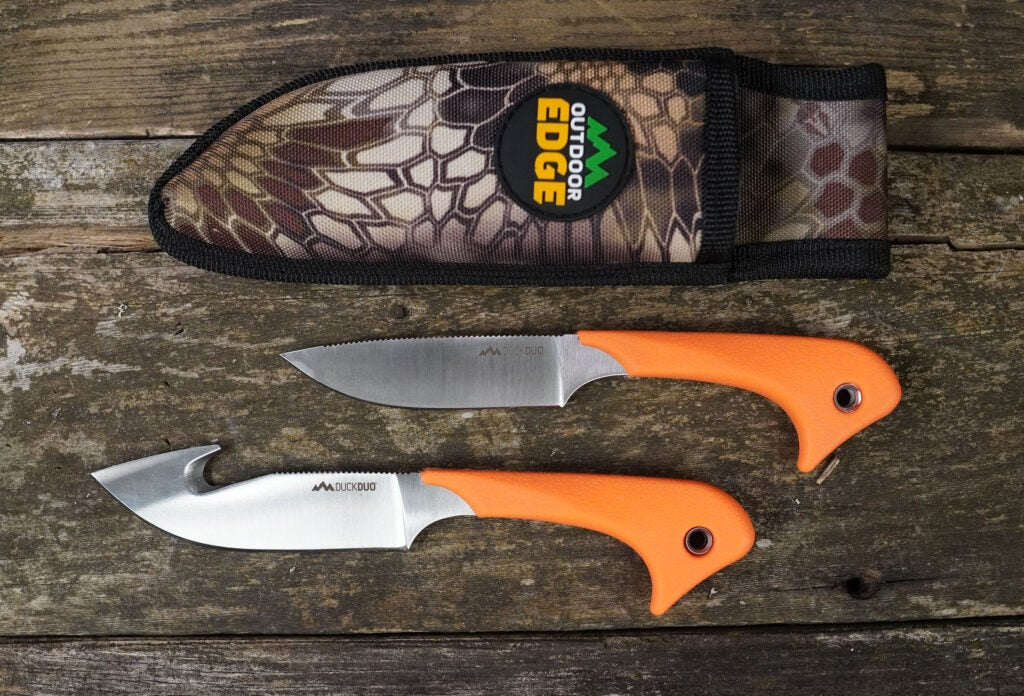 outdoor edge duck duo hunting knife