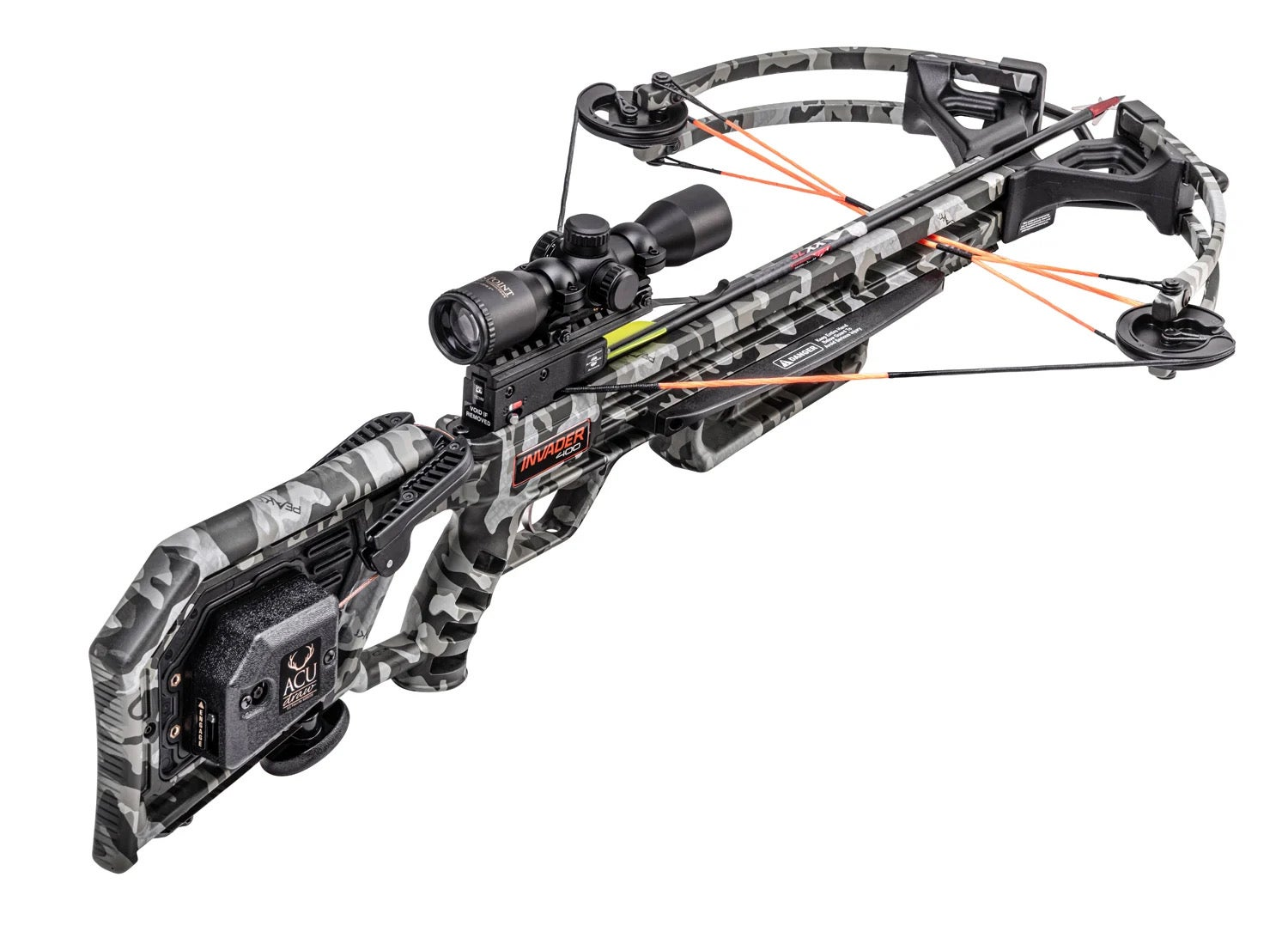 Wicked Ridge Invader 400 best crossbow for the money.