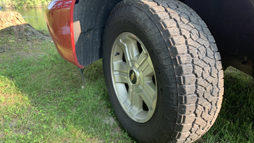 The A/T III is an ideal tire for hunters.