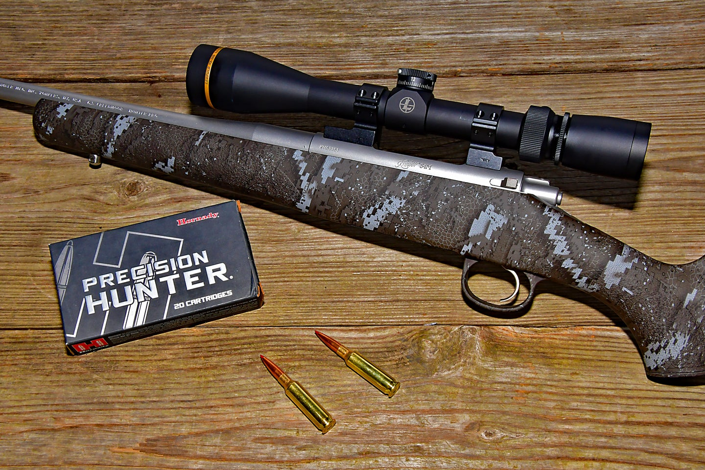Lightweight and affordable, the Kimber Desolve Blak rifle was built for the mountains.