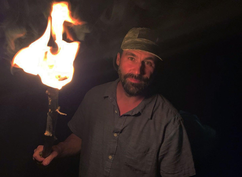 improvised torch