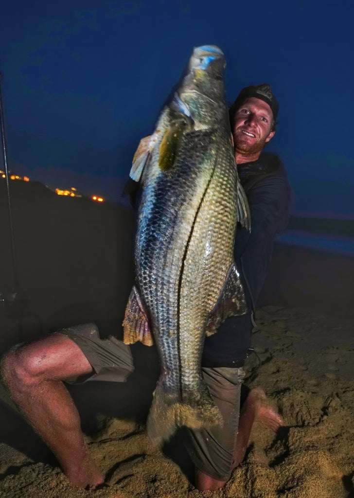 World-record snook from Cabo.