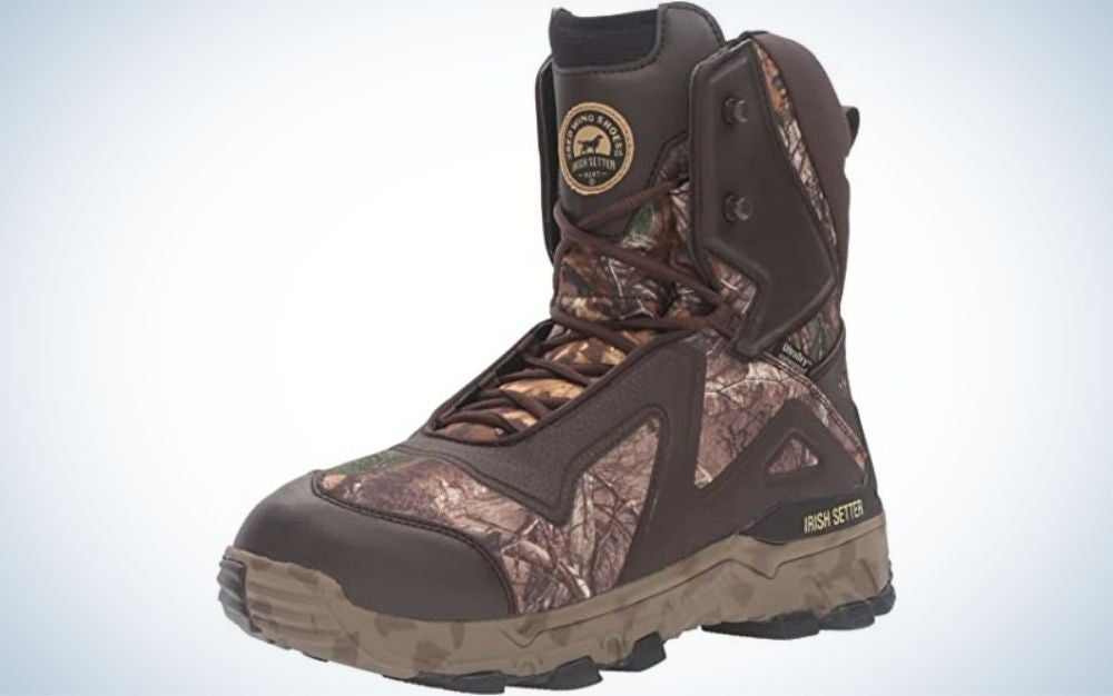 Irish Setter boots are the best hunting boots for men.
