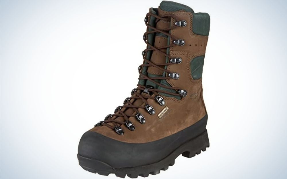 Kenetrek boots are the best hunting boots for the mountains