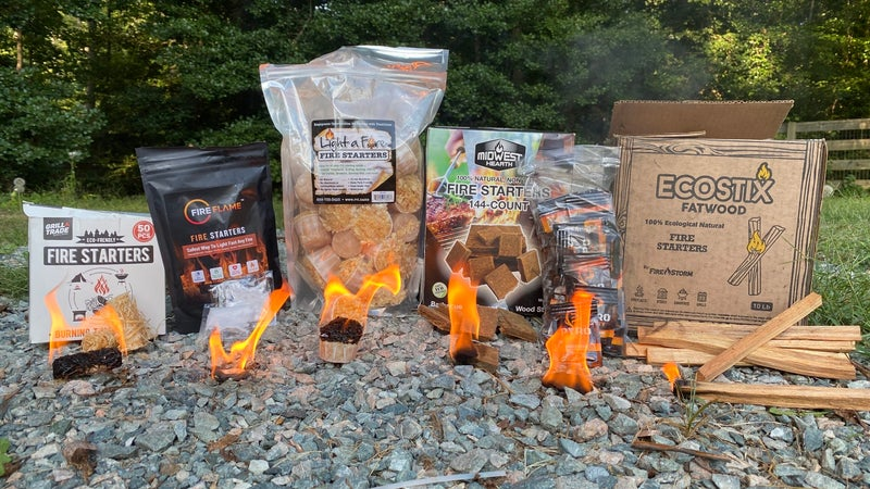 The Best Fire Starters to Light a Fire in any Condition