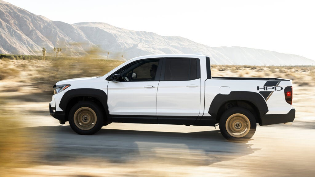 The Ridgeline is not a traditional hunting truck.
