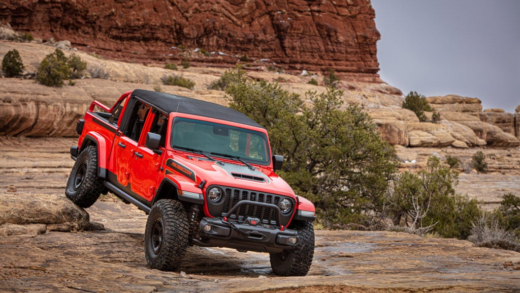 The Jeep Gladiator is a hunting truck that plays well in the mountains.