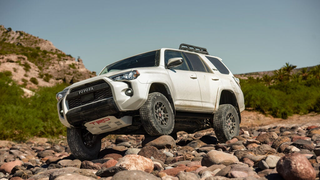 Toyota's 4Runner is a durable SUV for hunting.