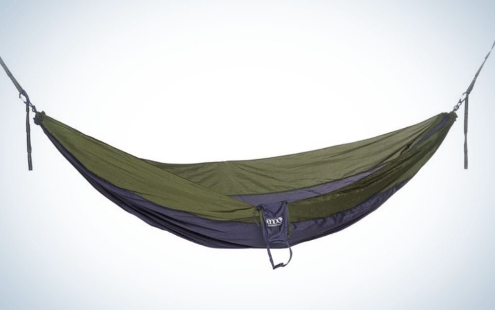 The best camping hammock is Eagles Nest