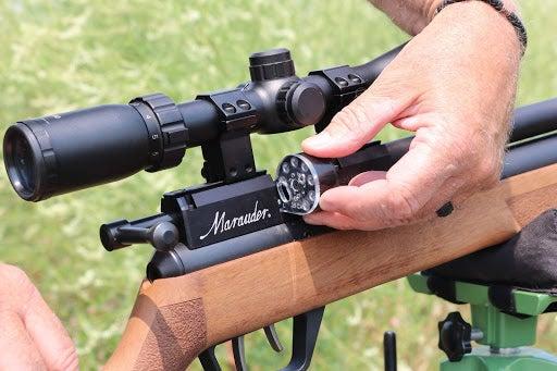 shooter loading marauder magazine