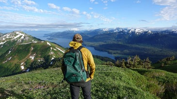 hiking in the tongass national forest