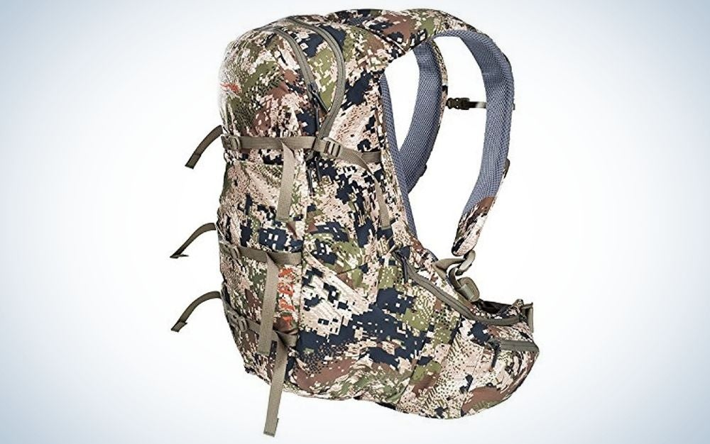 Subalpine camo is our pick for best hunting backpack for men.