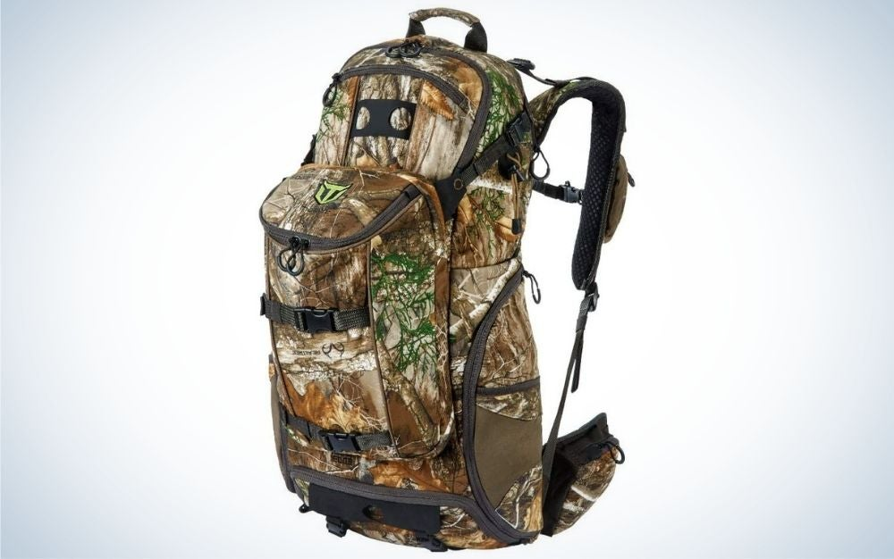Realtree edge camo is our pick for best hunting backpack