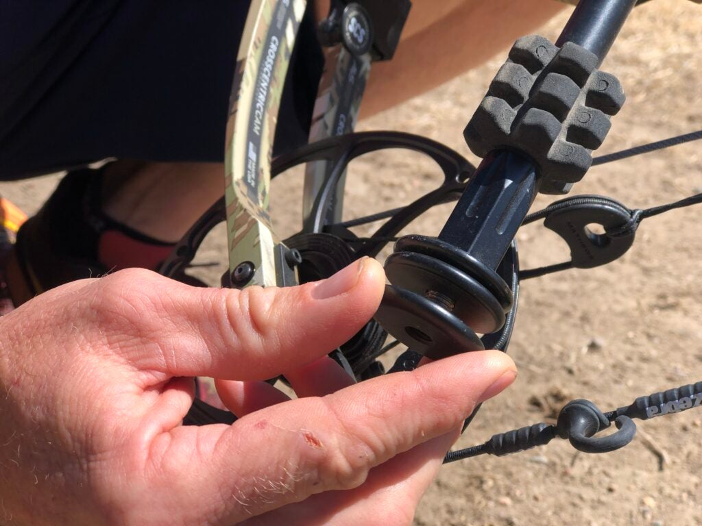 Stability is key for bowhunters, and a heavier bow will help with accuracy.