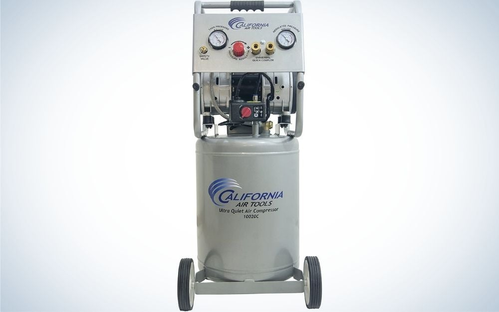 California air tools is our pick for best air compressor for running power tools.