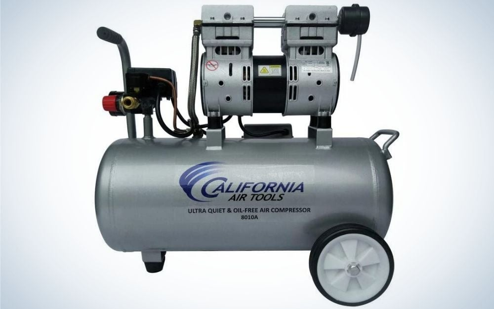 California air tools is our pick for best air compressor that's quiet.