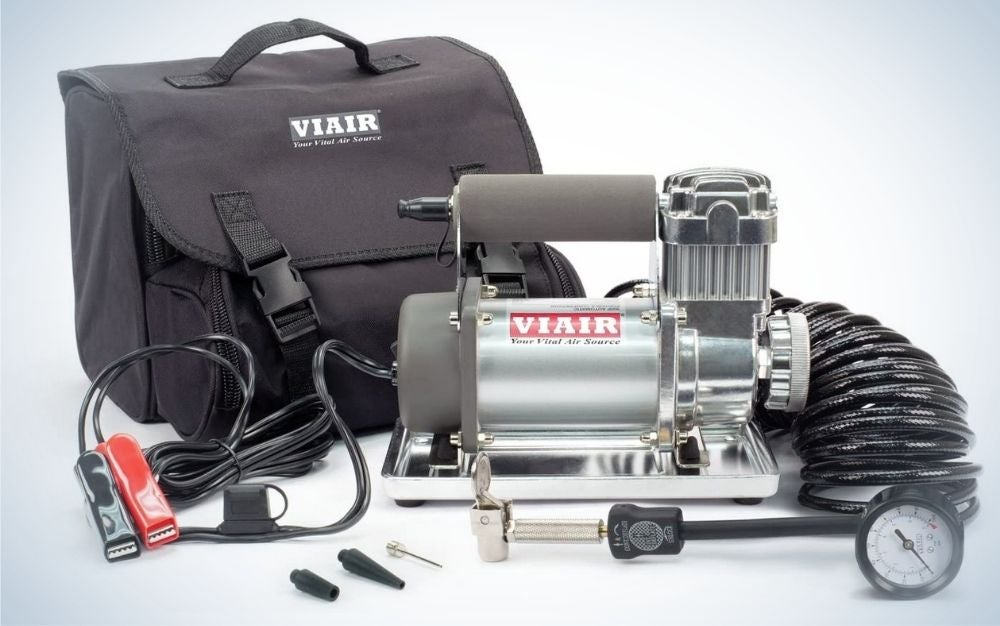 VIAIR is our pick for best air compressor that's portable.