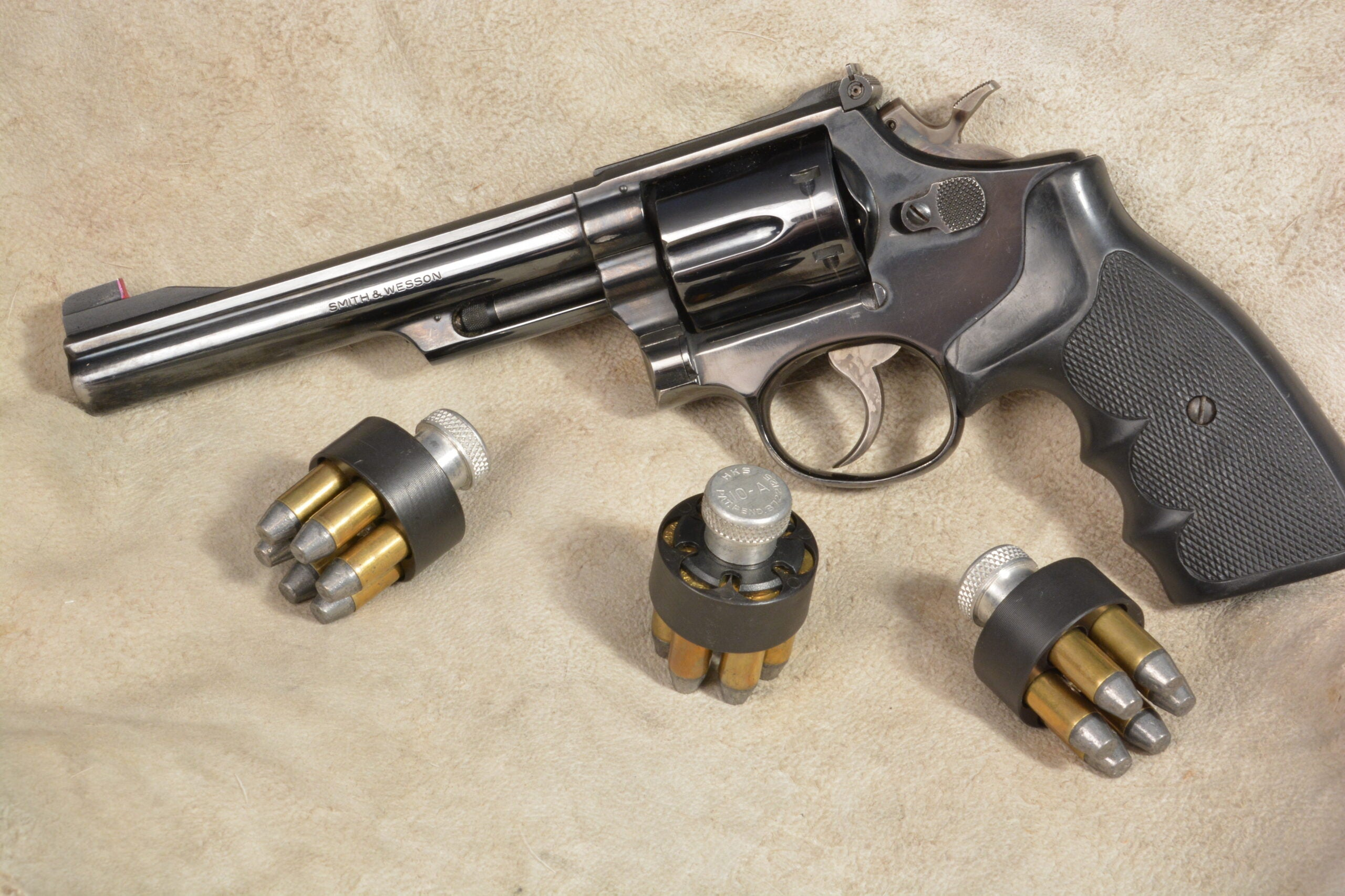 Model 19 is our pick for best revolver.
