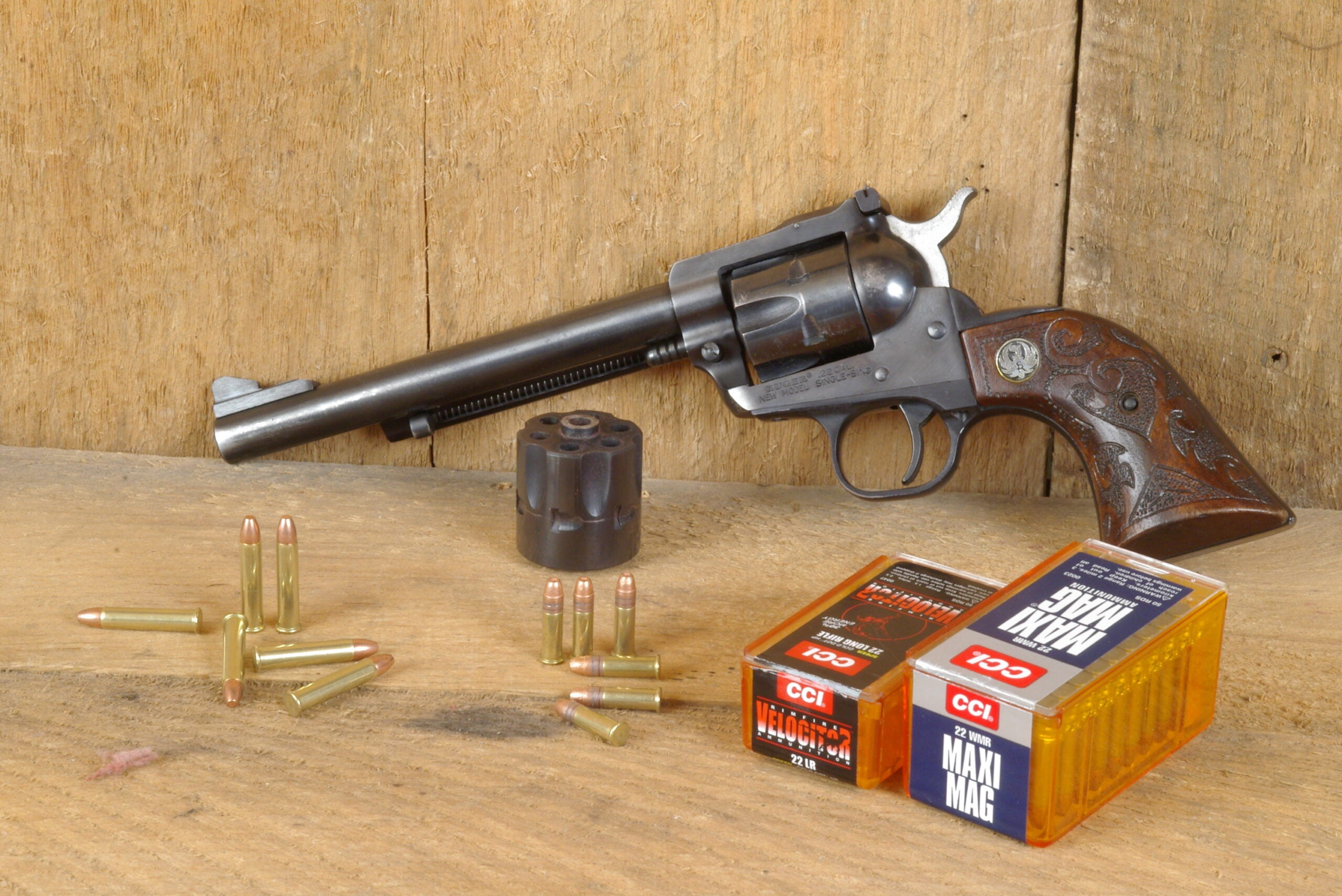 Ruger Super Single Six with .22 Magnum is our pick for best revolver.