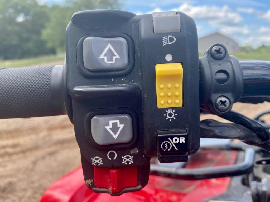 Honda's DCT transmission is superior to conventional ATV transmissions.