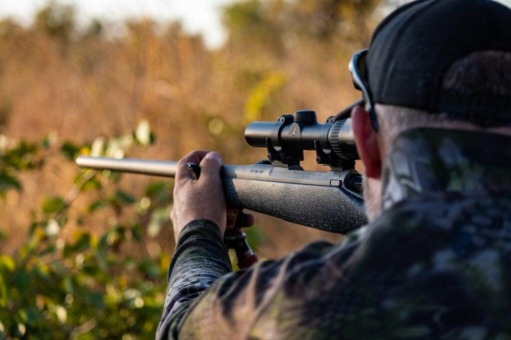 Shooting Nosler 21 off sticks