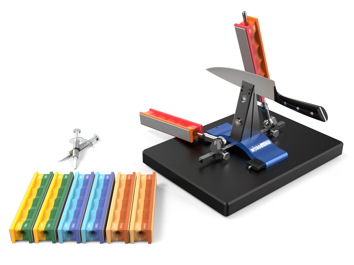 Wicked Edge pro pack 1 is our pick for best knife sharpener.