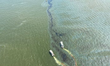 A Shipwrecked Cargo Freighter Is Leaking Oil Into the Atlantic Ocean