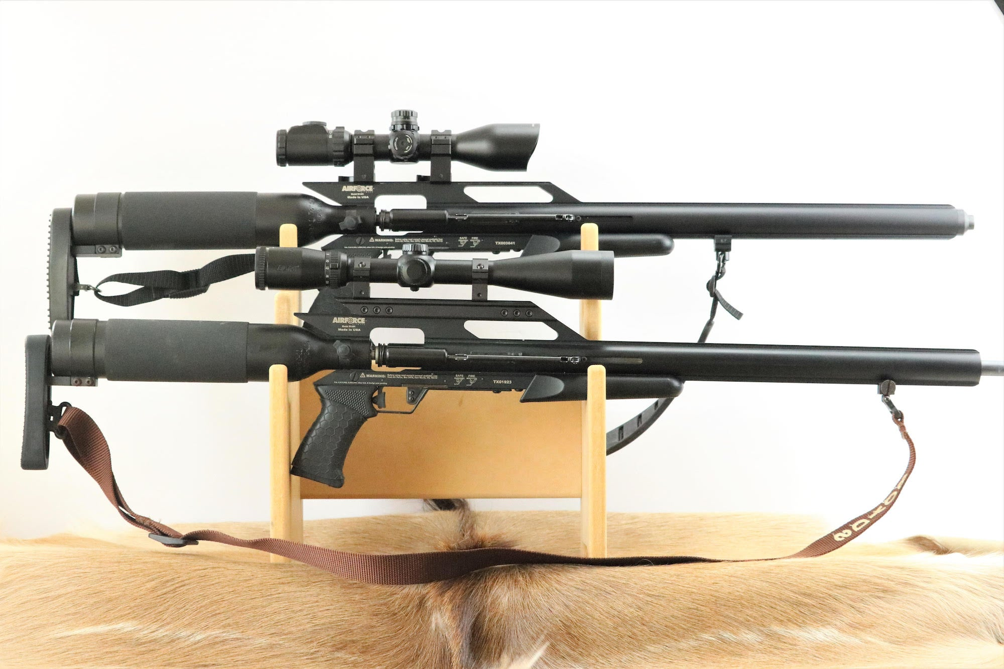 The AirForce Texan .308 and .357 are our picks for best air rifles.