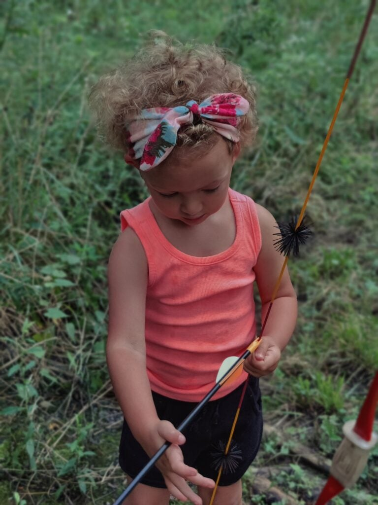 Teaching kids archery can begin at almost any age.