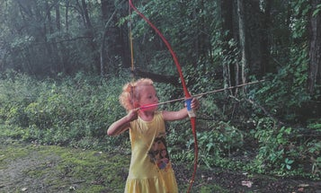 Yes, I'm Already Teaching My 2-Year-Old How to Shoot a Bow