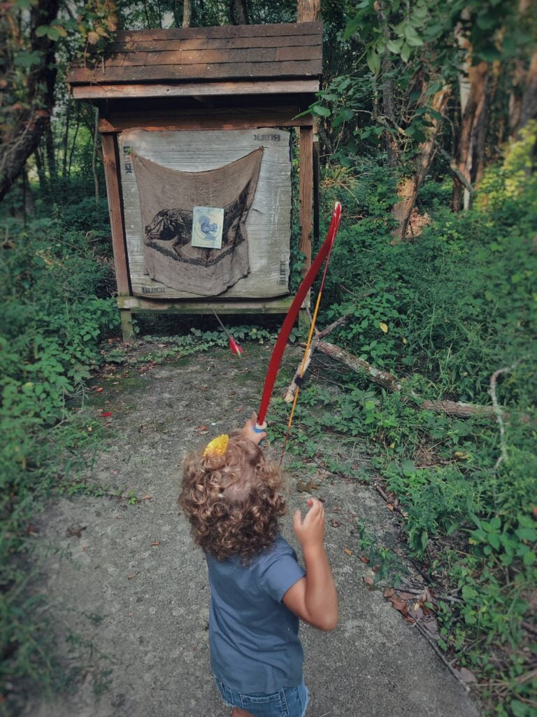 Teaching kids archery doesn't have to start at a certain age—just when they're ready.