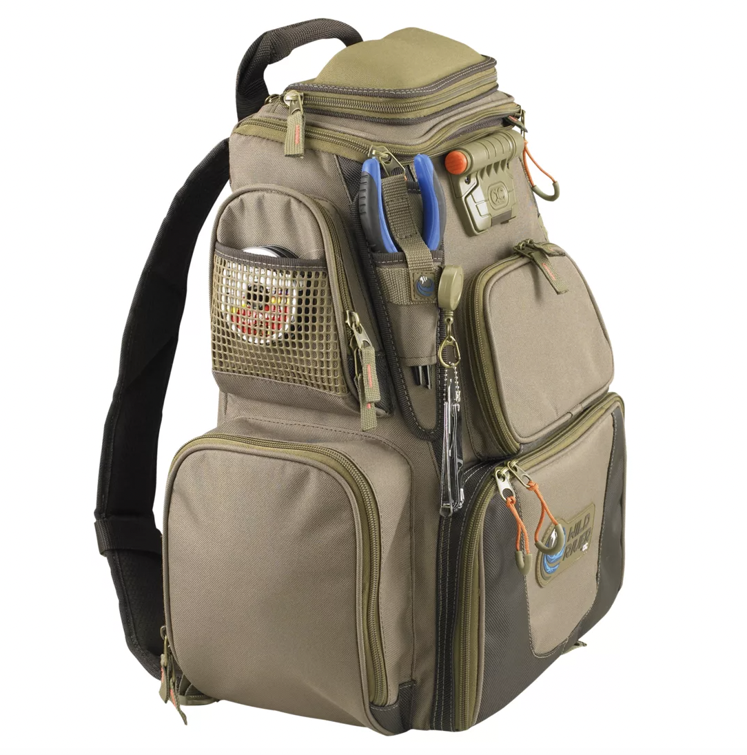 WildRiver Tackle Tek is our pick for best fishing backpacks.