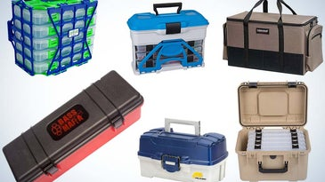 Collage of the best tackle boxes