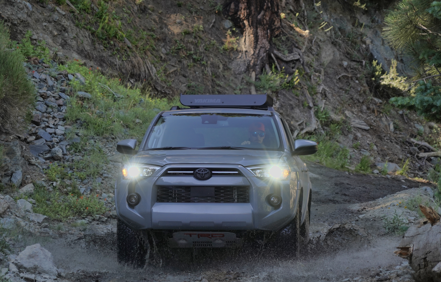 The 4Runner is off-road capable.