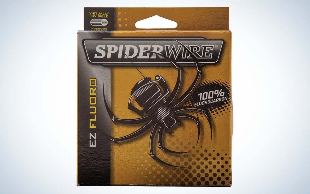 Brown Spiderwire EX fishing line packaging