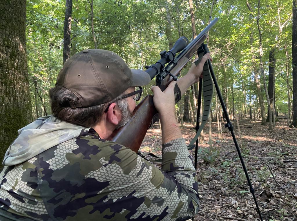 Joe Genzel shoots a .17 HMR.