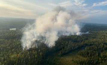 Boundary Waters Canoe Area Wilderness Closes Indefinitely Due to Wildfires