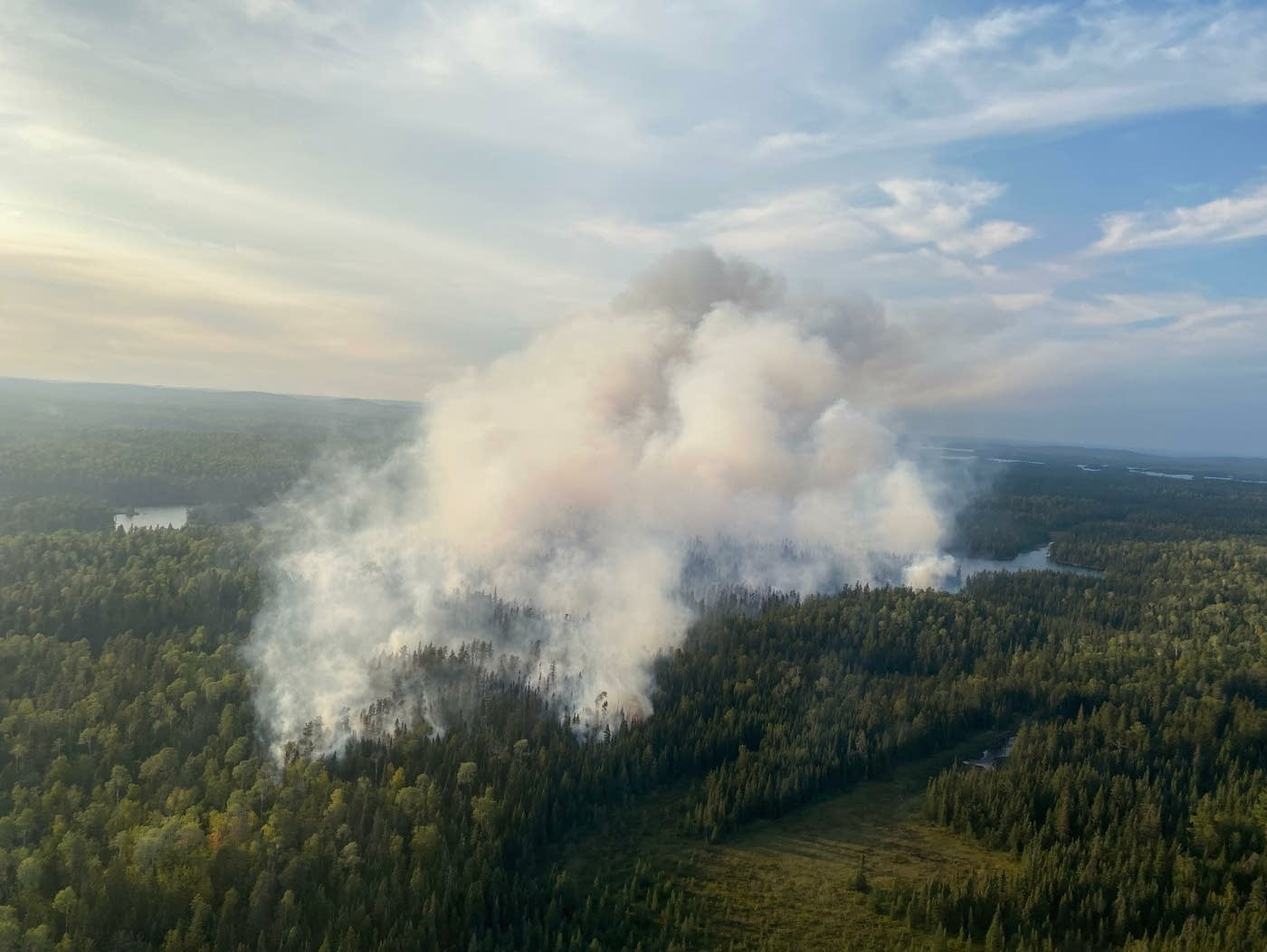forest service burn photo